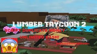 ROBLOX LUMBER TYCOON 2| NEW SCRIPT DUPLICATE MONEY| INF CASH!
