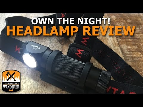 Headlamp Review: WOWTAC A2S LED