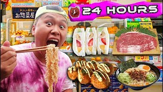I Only Ate JAPANESE FOOD for 24 HOURS!