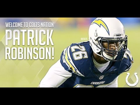 Patrick Robinson Welcome to the Colts 2016