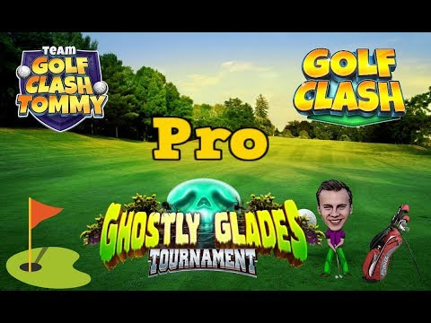 Golf Clash tips, Playthrough, Hole 1-9 - PRO - TOURNAMENT WIND! Ghostly Glades Tournament!