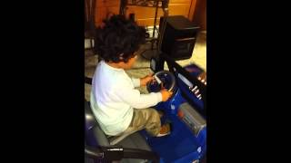 Sonny gets his own jeep
