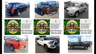 Country Auto Sales will sell you the best used cars at the best price & best finance rates