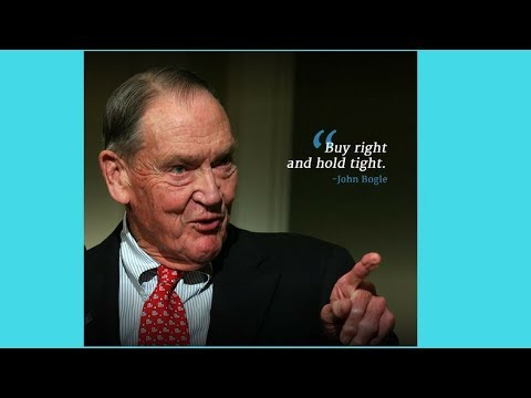 🔵John Bogle on how to create perfect asset allocation