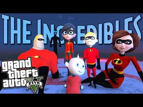 GTA 5 Mods - THE ULTIMATE INCREDIBLES 2 MOD w/ Screenslaver (GTA 5 PC Mods Gameplay)