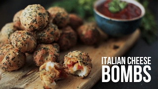 Italian cheese bombs  [BA Recipes]