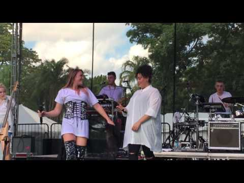 Clean Bandit Rockabye LIVE at Chipotle Cultivate Festival
