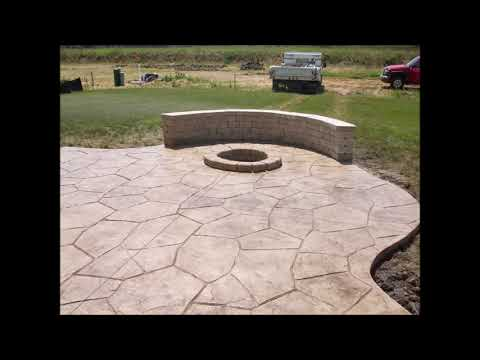 Stamped Concrete Patio Contractor and Pricing in Lincoln Nebraska| Lincoln Handyman Services