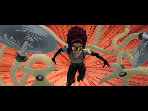 Spider-Man: Into the Spider-Verse - Doc Ock's First Fight Scene (1080p)