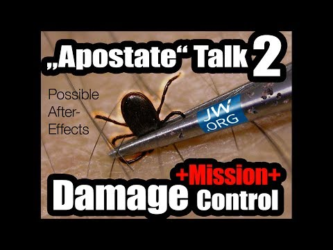 """Apostate"" Talk (2) + Mission Damage Control +"
