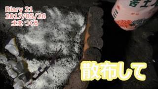 ザクの「I Love グリーン」【Diary 021 : 2017/05/26】 thumbnail