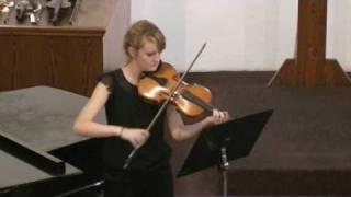 G. P.  Telemann: Koncert pro violu a continuo - L. Němcová