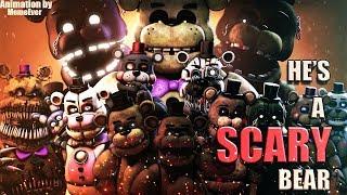 Скачать SFM FNAF He S Scary Bear Fandroid Performed By Caleb Hyles