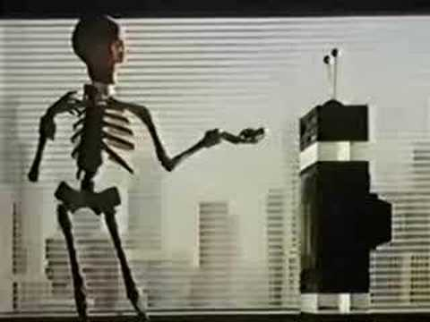 Scotch - Video Tapes - Skeleton Re-record - 1985 - UK Advert