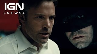 Affleck Talks Batman Solo Film Status - IGN News