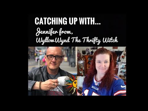 Catching up with Jennifer, WyllowWynd The Thrifty Witch - Daddy Duck Meets Mamma Squirrel