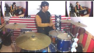 THE RAIN - TERLATIH PATAH HATI ft.ENDANK SOEKAMTI DRUM COVER BY HELMY NEWTRON