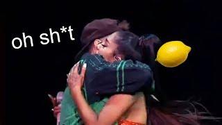 Ariana Grande HIT w/ A LEMON + Justin Bieber Performance!