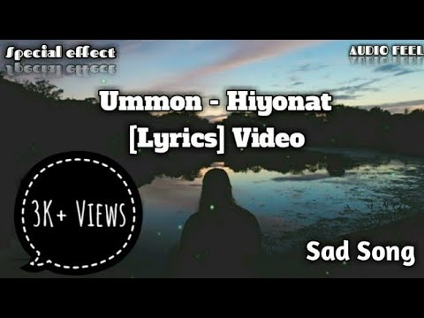 Remix Ummon - Hiyonat | [Lyrics] Video | With English Lyrics | AUDIO FEEL | Special effect