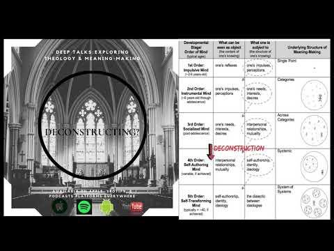 Faith Deconstruction & Robert Kegan's Model of Development thumbnail