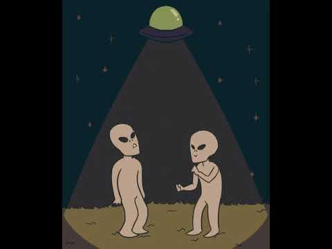 Alien bailando