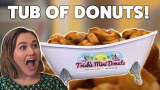 This Is A TUB OF DONUTS