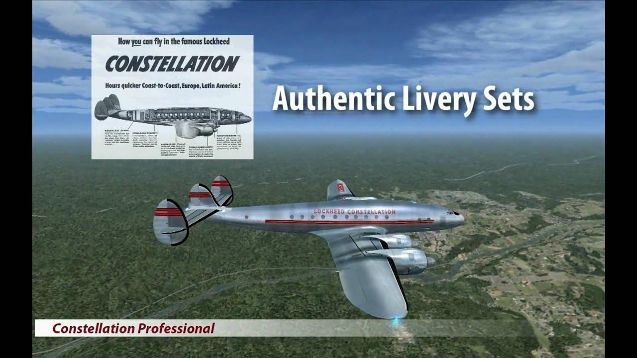 Just Flight - Constellation Professional