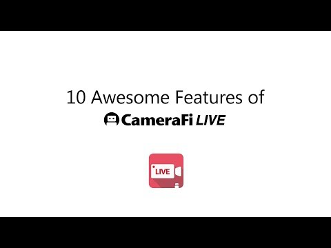 CameraFi Live - YouTube, Facebook, Twitch and Game - Apps on
