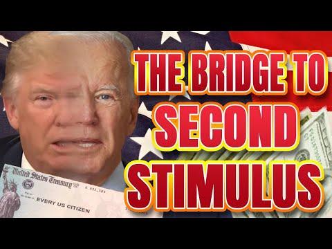SCOOP - $908 Stimulus Bill TOMORROW (BRIDGE to SECOND STIMULUS CHECK from Biden Administration)