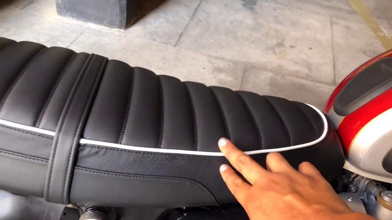 Banco conforto | Comfort Seat | Triumph Bonneville T120