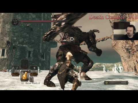 Dark Souls II: Scholar of the First Sin pt170 - A Step Too Far/Giant Terror
