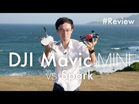 DJI Mavic Mini vs Spark (Tested in strong wind)