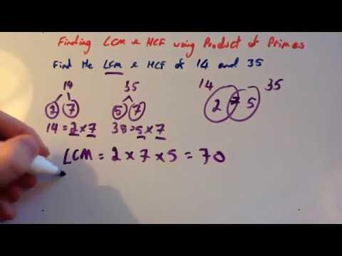LCM HCF Using Product Of Primes - Corbettmaths