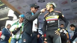 Miguel Angel Lopez - Alex Cano - Campeonato de Colombia de Ciclismo en Ruta 2015