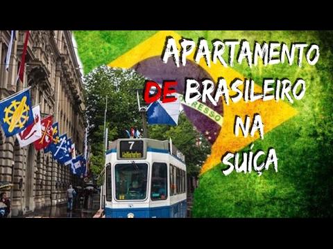 N•27 APARTAMENTO DE BRASILEIRO NA SUÍÇA! (Alex Luba)