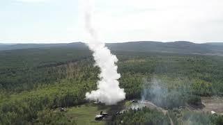 Пуски ракет ЗРС С-300 и ЗРК «Бук» в рамках маневров «Восток-2018»