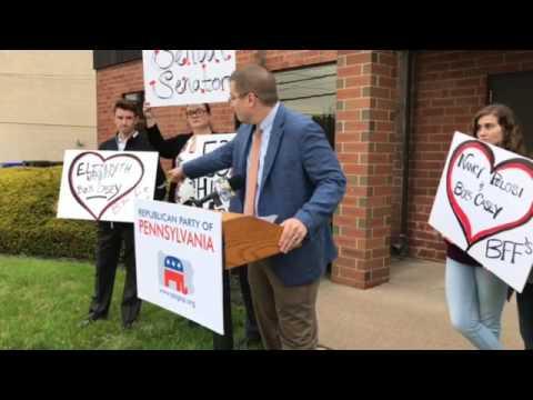 Pennsylvania GOP chairman blasts Sen. Bob Casey