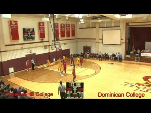 Men's Basketball - Chestnut Hill College vs Dominican College! (2/13/2016)