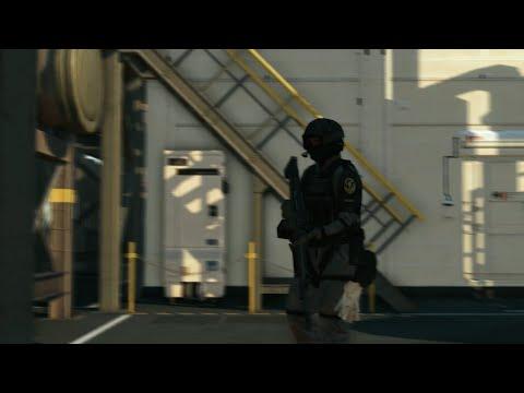 XOF invades mother base - Infinite Heaven mod