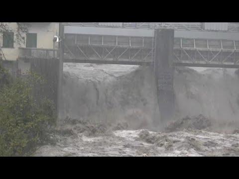 Il Maltempo Piega Il Nord Italia, In Liguria Esondazioni E Allagamenti
