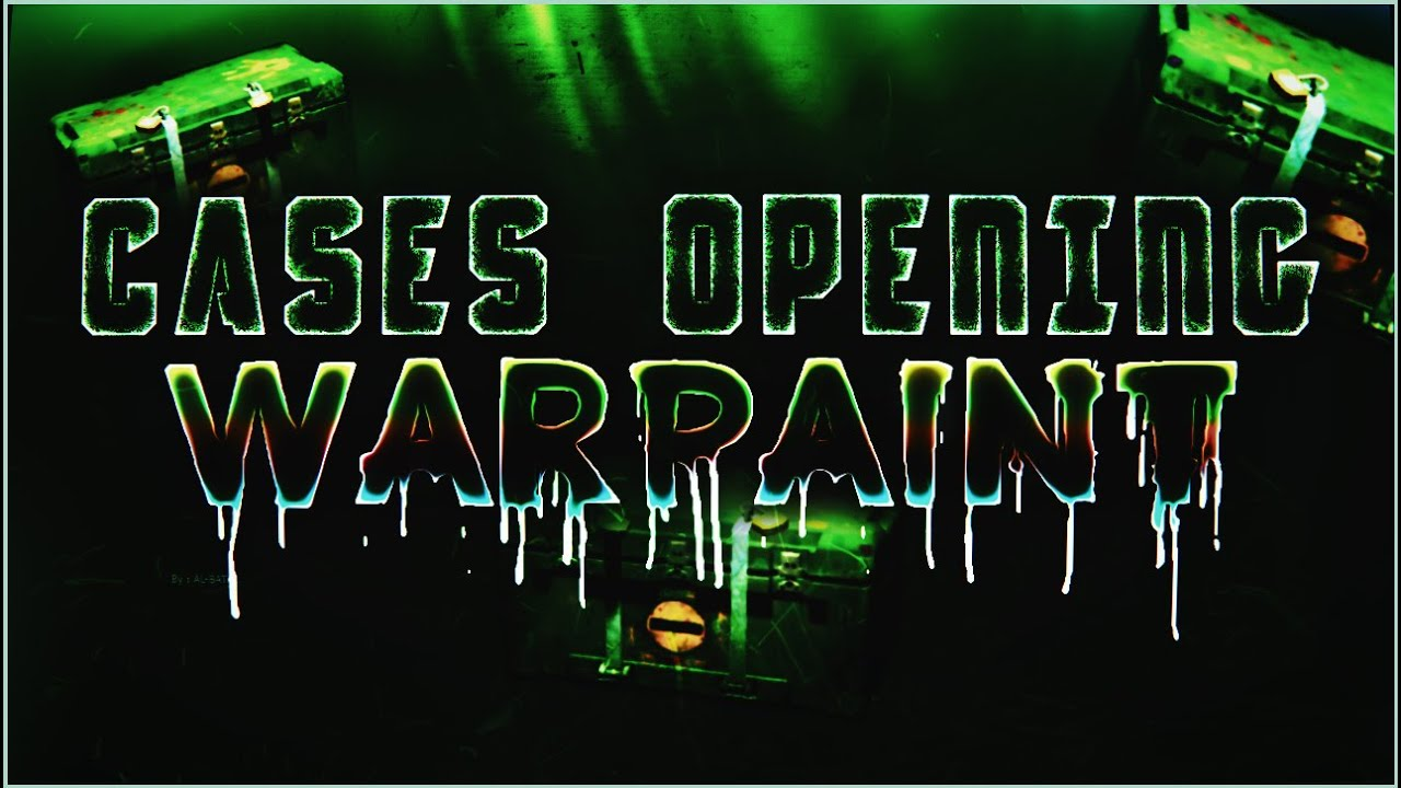 WARPAINT cases opening - critical ops