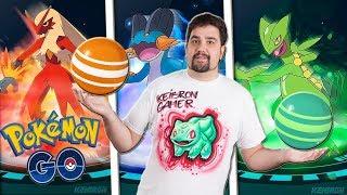 ¡ACTUALIZACIÓN: TODOS los CARAMELOS en las EVOLUCIONES de 3 GENERACIÓN en Pokémon GO! 3gen [Keibron]