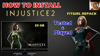 How to Install INJUSTICE 2 FITGIRL REPACK on PC | Won