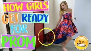 How Girls Get Ready for Prom! | Sasha Morga