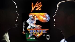 NFL Blitz 2001 - Sega Dreamcast - Retro Sports League - Tom & Joe H vs Joe V & Cory - Game 29