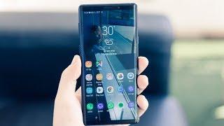 סקירה Galaxy Note 9