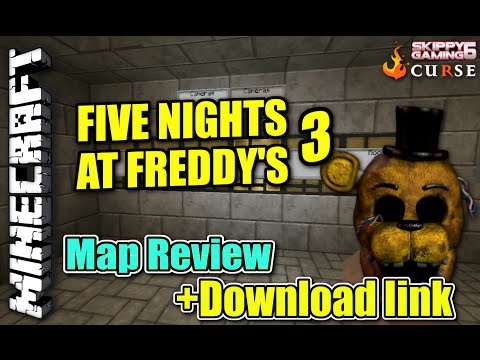 Minecraft ps3 five nights at freddy s map review download link