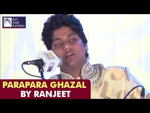 Ranjeet Rajwada Ghazals | Para Para Hua Pairahan-e-Jaan | Idea Jalsa  | Art And Artistes