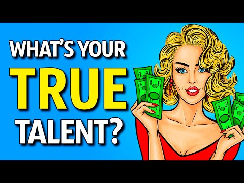 What's Your True Talent? (Personality Test)