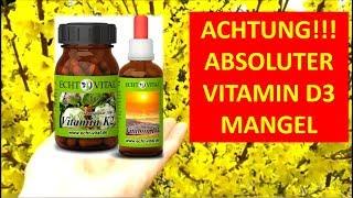 Vitamin D, Magnesium und Vitamin K2 richtig dosieren